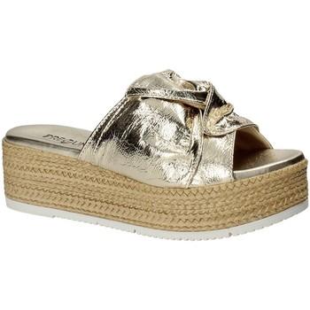 Cipők Női Papucsok Pregunta IL02402-CL Sárga