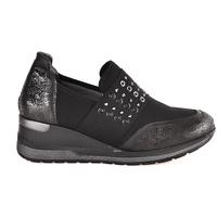Cipők Női Belebújós cipők Melluso R25510 Fekete
