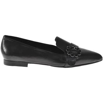 Cipők Női Mokkaszínek Elvio Zanon I3203B Fekete