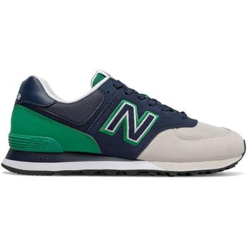 Cipők Férfi Rövid szárú edzőcipők New Balance NBML574UPZ Kék