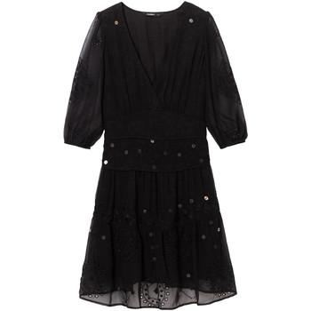 Ruhák Női Rövid ruhák Desigual 19WWVW32 Fekete