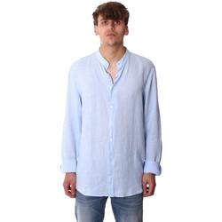 Ruhák Férfi Hosszú ujjú ingek Calvin Klein Jeans K10K105389 Kék