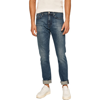 Ruhák Férfi Egyenes szárú farmerek Calvin Klein Jeans K10K105468 Kék