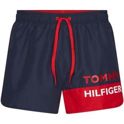 Ruhák Férfi Fürdőruhák Tommy Hilfiger UM0UM01683 Kék