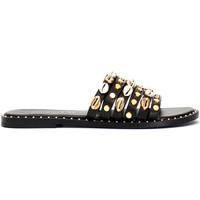 Cipők Női Papucsok Café Noir GB173 Fekete