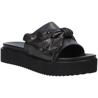 Cipők Női Papucsok Grunland CI1519 Fekete