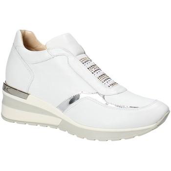 Cipők Női Rövid szárú edzőcipők Exton E07 Fehér