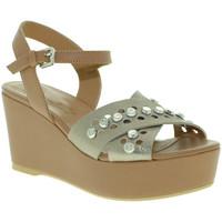 Cipők Női Szandálok / Saruk Mally 6237 Barna
