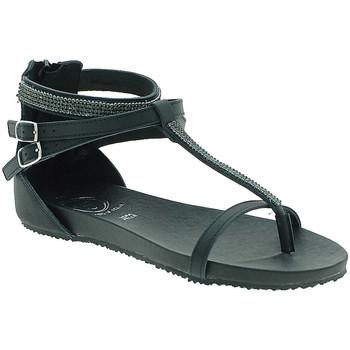 Cipők Női Szandálok / Saruk 18+ 6110 Fekete
