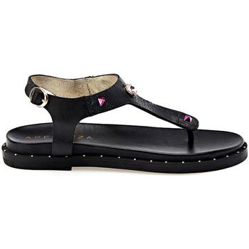 Cipők Női Szandálok / Saruk Apepazza JPL06 Fekete