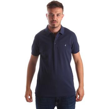 Ruhák Férfi Rövid ujjú galléros pólók Navigare NV82097 Kék