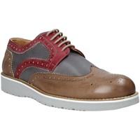 Cipők Férfi Oxford cipők Exton 5105 Barna