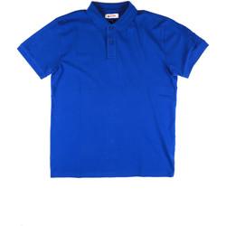 Ruhák Férfi Rövid ujjú galléros pólók Invicta 4452172/U Kék