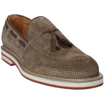 Cipők Férfi Mokkaszínek Exton 675 Barna