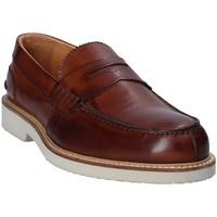 Cipők Férfi Mokkaszínek Exton 9102 Barna