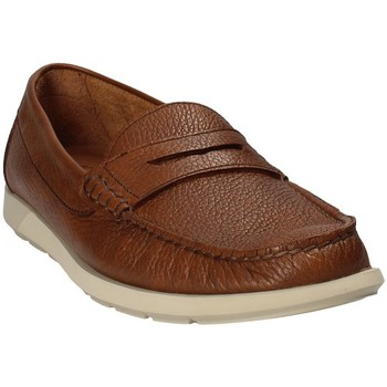 Cipők Férfi Mokkaszínek Maritan G 460390 Barna