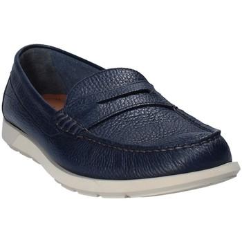 Cipők Férfi Mokkaszínek Maritan G 460390 Kék