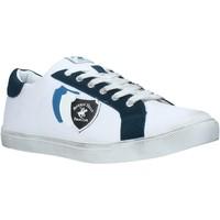 Cipők Férfi Rövid szárú edzőcipők Beverly Hills Polo Club BH-3011 Fehér