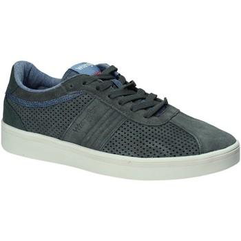 Cipők Férfi Rövid szárú edzőcipők Wrangler WM181040 Zöld