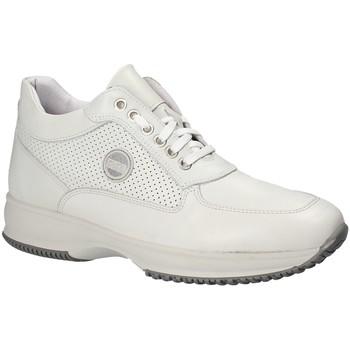 Cipők Férfi Rövid szárú edzőcipők Exton 2027 Fehér