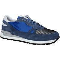 Cipők Férfi Rövid szárú edzőcipők Exton 993 Kék
