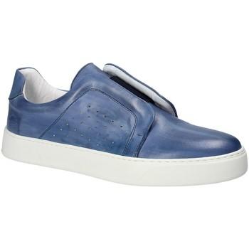Cipők Férfi Belebújós cipők Exton 511 Kék