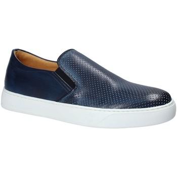 Cipők Férfi Belebújós cipők Exton 515 Kék
