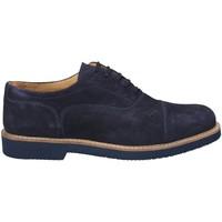Cipők Férfi Bokacipők Exton 9196 Kék