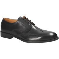 Cipők Férfi Oxford cipők Exton 1372 Fekete
