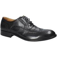 Cipők Férfi Oxford cipők Exton 5352 Fekete