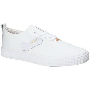 Cipők Férfi Rövid szárú edzőcipők Gas GAM810111 Fehér