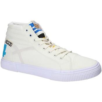 Cipők Férfi Magas szárú edzőcipők Gas GAM810152 Fehér