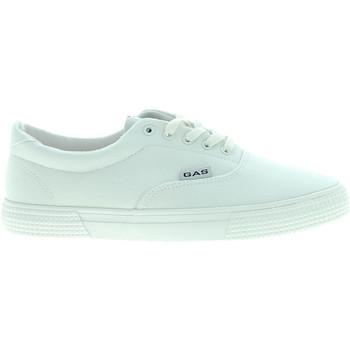 Cipők Férfi Rövid szárú edzőcipők Gas GAM810161 Fehér