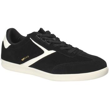 Cipők Férfi Rövid szárú edzőcipők Gas GAM817000 Fekete
