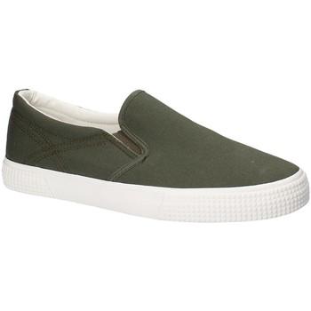 Cipők Férfi Belebújós cipők Gas GAM810165 Zöld