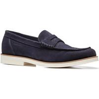 Cipők Férfi Mokkaszínek Stonefly 110777 Kék
