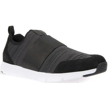 Cipők Férfi Belebújós cipők Geox U822DB 06K43 Fekete