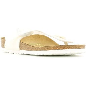 Cipők Gyerek Lábujjközös papucsok Birkenstock 847223 Fehér