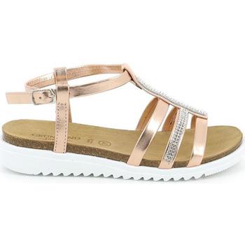 Cipők Lány Szandálok / Saruk Grunland SB0287 Rózsaszín