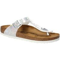 Cipők Gyerek Lábujjközös papucsok Birkenstock 1008093 Fehér