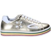 Cipők Lány Rövid szárú edzőcipők Guardiani GK25300G Sárga