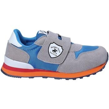 Cipők Gyerek Rövid szárú edzőcipők Beverly Hills Polo Club BH-8017 Szürke