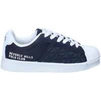 Cipők Fiú Rövid szárú edzőcipők Beverly Hills Polo Club BH-2023 Kék