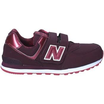 Cipők Gyerek Rövid szárú edzőcipők New Balance NBKV574F2Y Piros