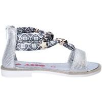 Cipők Lány Szandálok / Saruk Asso 64075 Szürke