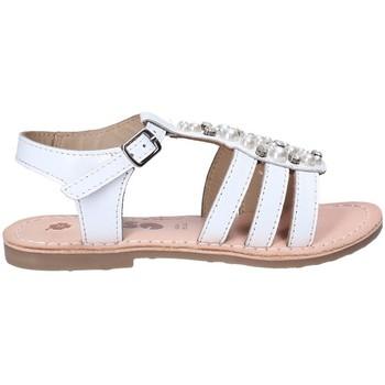Cipők Lány Szandálok / Saruk Asso 65952 Fehér