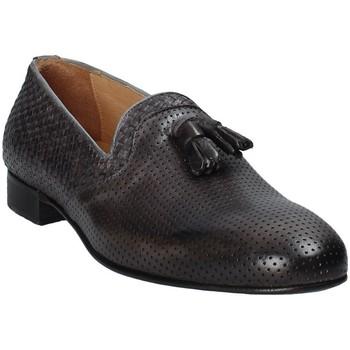 Cipők Férfi Mokkaszínek Exton 1059 Szürke