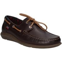 Cipők Férfi Vitorlás cipők CallagHan 14400 Barna