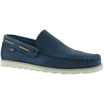 Cipők Férfi Mokkaszínek CallagHan 15400 Kék