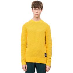 Ruhák Férfi Pulóverek Calvin Klein Jeans K10K102731 Sárga